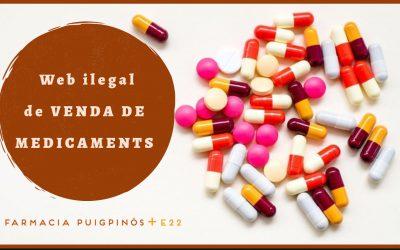 Com reconeixer una web ilegal de Venda de medicaments